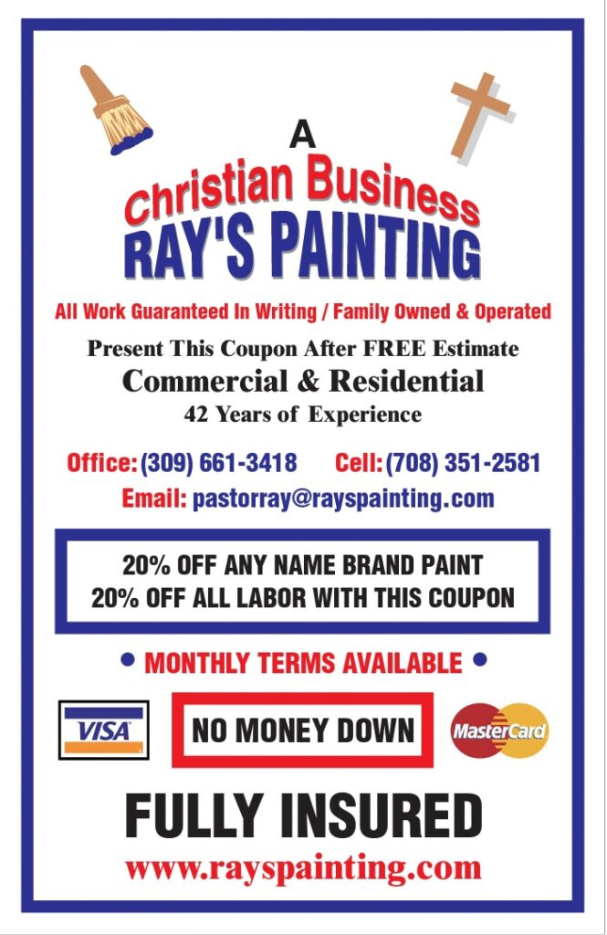 Ray's Painting Coupon
